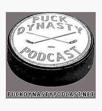 Puck Dynasty Podcast Logo Photographic Print