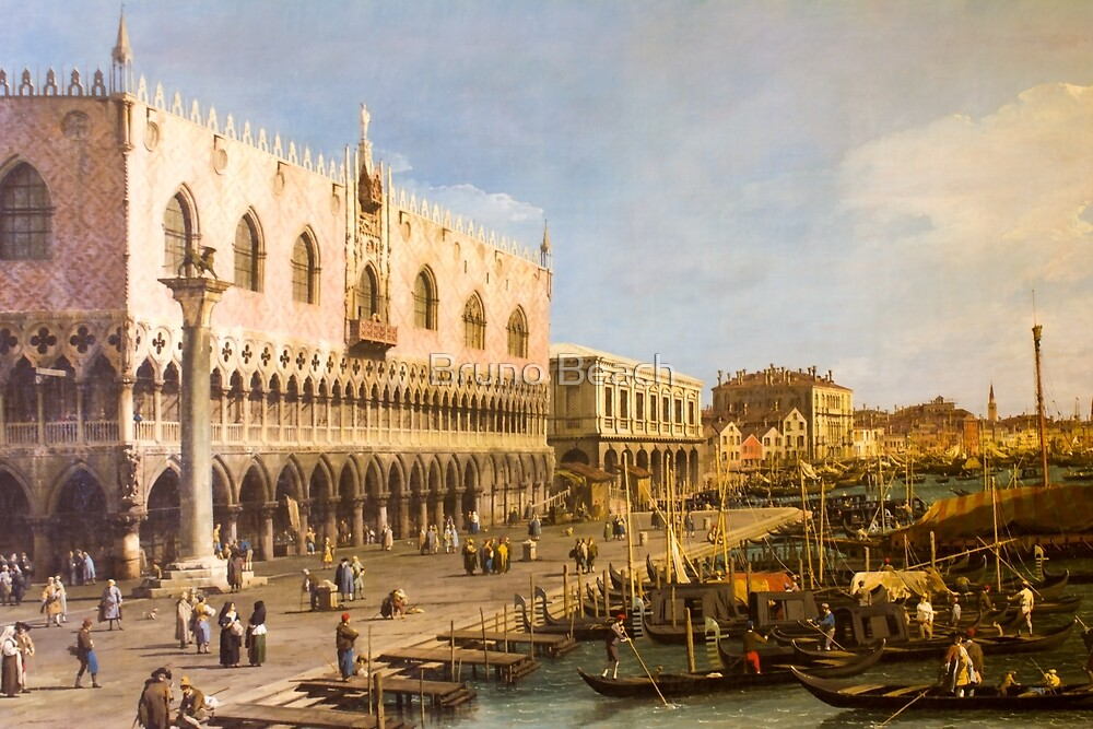 Venice - artwork in painting style by Bruno Beach