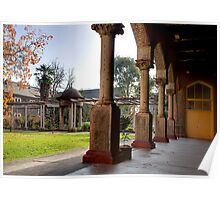 Abbotsford Convent Courtyard Poster