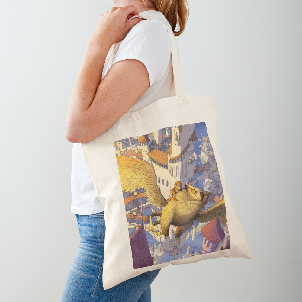 The spiral city Tote Bag