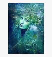High Priestess of Water Photographic Print