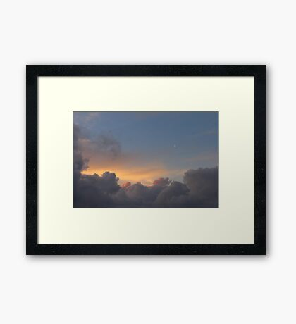 Cloud Lullaby Framed Print
