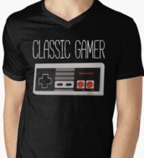 Classic gamer (nes controller) Mens V-Neck T-Shirt