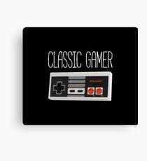 Classic gamer (nes controller) Canvas Print