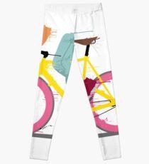 fixie bicycle Leggings