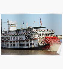 Natchez Steamboat Poster