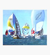 Cowes Week    Photographic Print