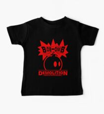 Bob-Omb Demolition red Baby Tee