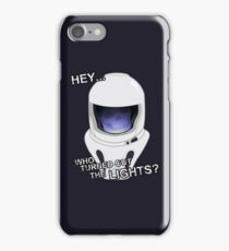 """""""Hey Who Turned Out The Lights"""" iPhone Case/Skin"""