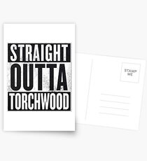 Straight Outta Torchwood Postcards