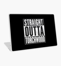 Straight Outta Torchwood Laptop Skin