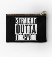 Straight Outta Torchwood Studio Pouch