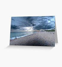 Bracklesham Bay Greeting Card