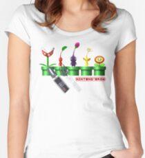 Nintend'Gro Gardening,  Women's Fitted Scoop T-Shirt