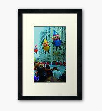 Thanksgiving Day in New York City Framed Print