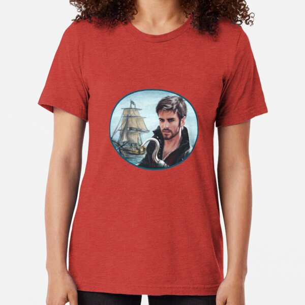 The Captain Tri-blend T-Shirt