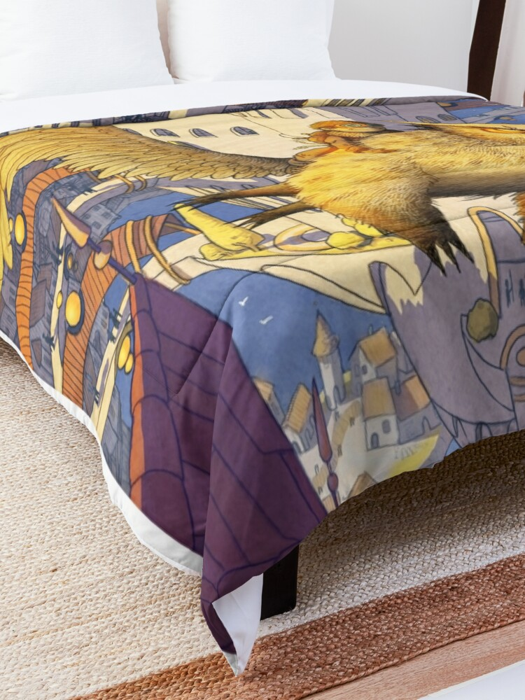 Alternate view of The spiral city Comforter