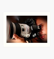 Canon EOS 40D Art Print