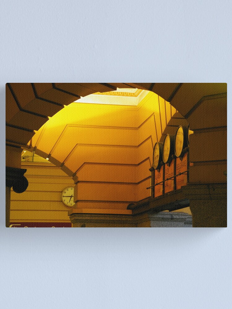 Alternate view of Daybreak Beneath The Arches Canvas Print