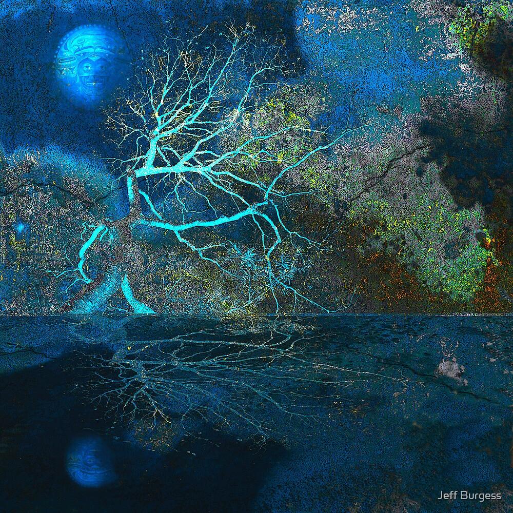 Blue Moon - Native Presence by Jeff Burgess