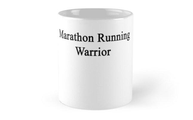 Marathon Running Warrior  by supernova23