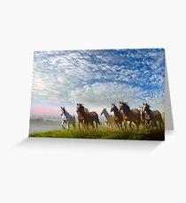 Spirit Of The Prairies Greeting Card