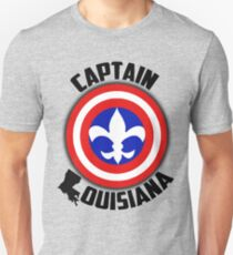 Captain Louisiana - Fleur de Lis T-Shirt