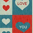Love You card by 1001cards