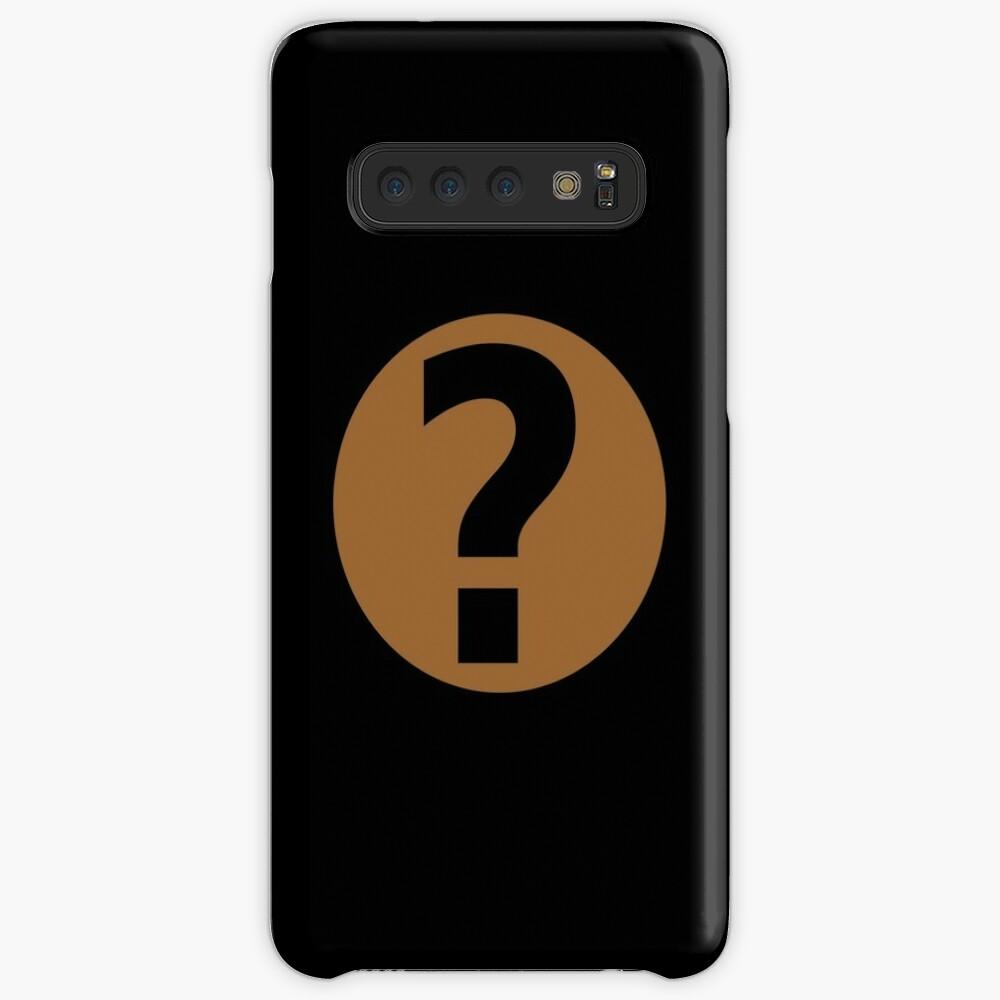 PodQuiz Black Case & Skin for Samsung Galaxy