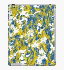 Blue and gold rust iPad Case/Skin