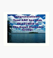 Featured Art - The Great Outdoors Group Art Print
