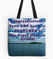Featured Art - The Great Outdoors Group Tote Bag