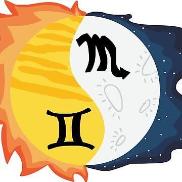 Gemini Sun, Scorpio Moon by SamoyedOfValor