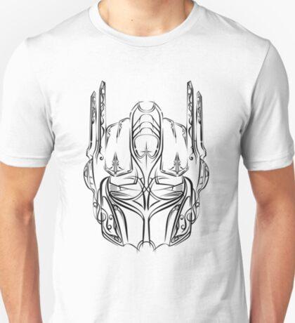 Pinstripe Prime (black version) T-Shirt