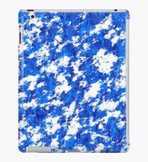 Blue rust,products with eroded surface iPad Case/Skin