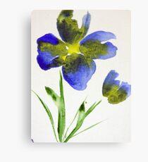 Blue Bell Canvas Print