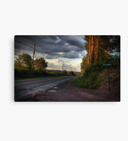 Along Route 118 Canvas Print