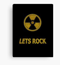 Duke Nukem - Lets Rock Canvas Print