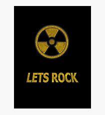 Duke Nukem - Lets Rock Photographic Print