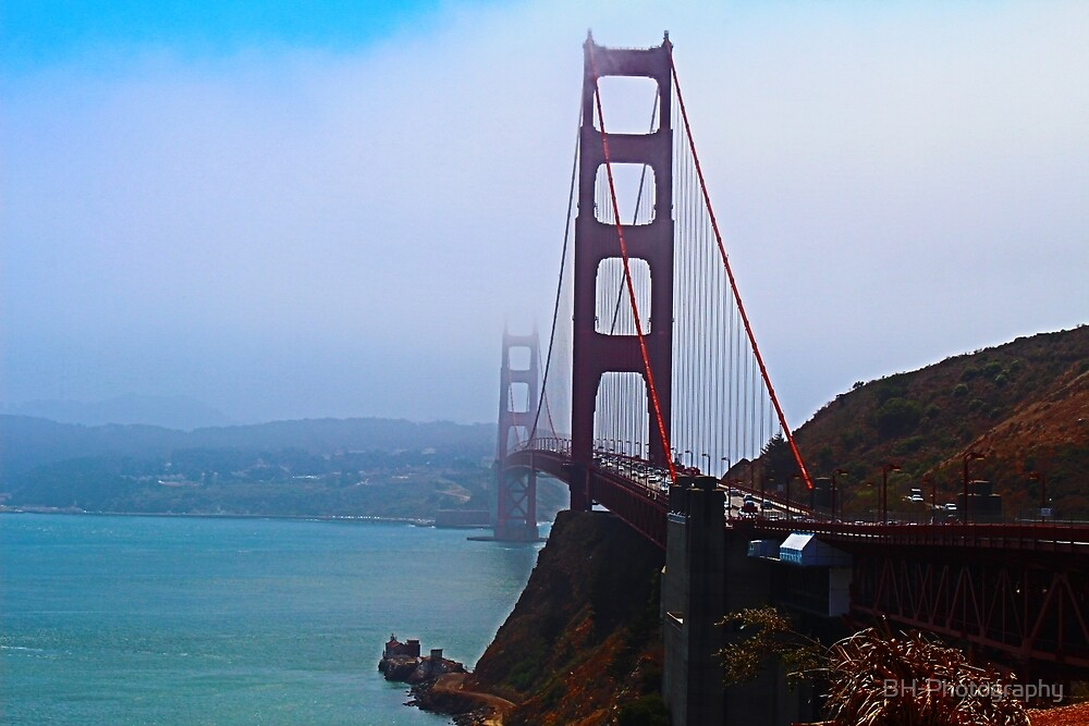 The Golden Gate Bridge by BH-Photography