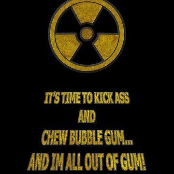Duke Nukem - Chew Bubble Gum by Yerbs