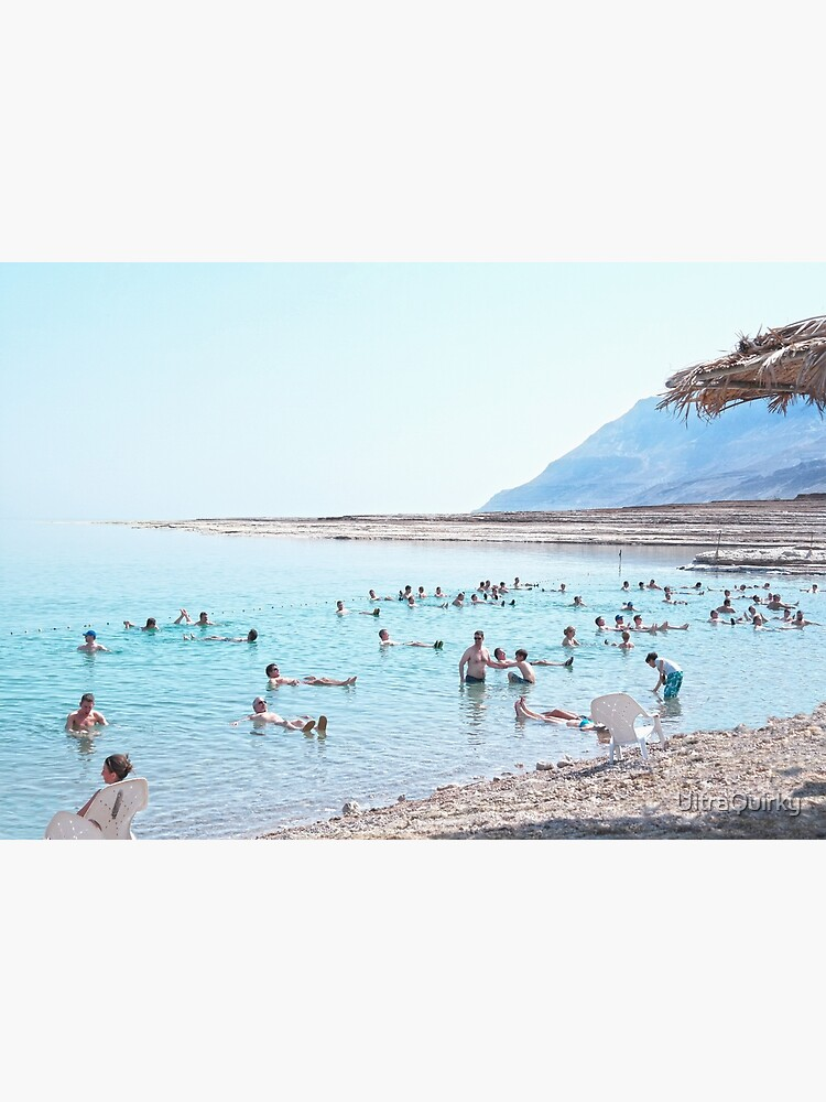 Dead Sea, Israel. Floating and Relaxing. by UltraQuirky