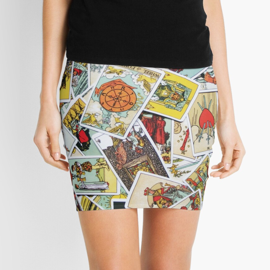 Tarot Card Collection Mini Skirt