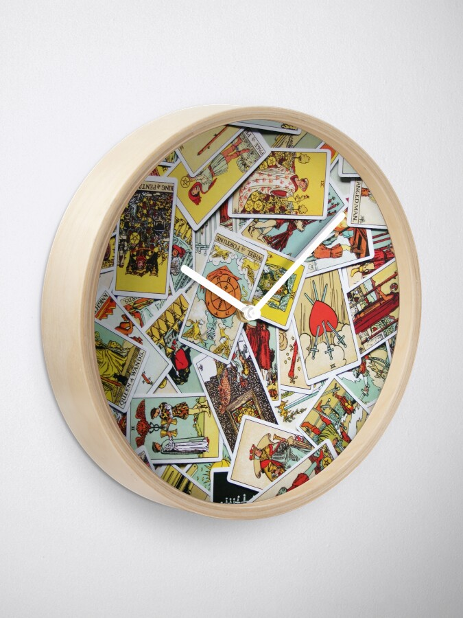 Alternate view of Tarot Card Collection Clock