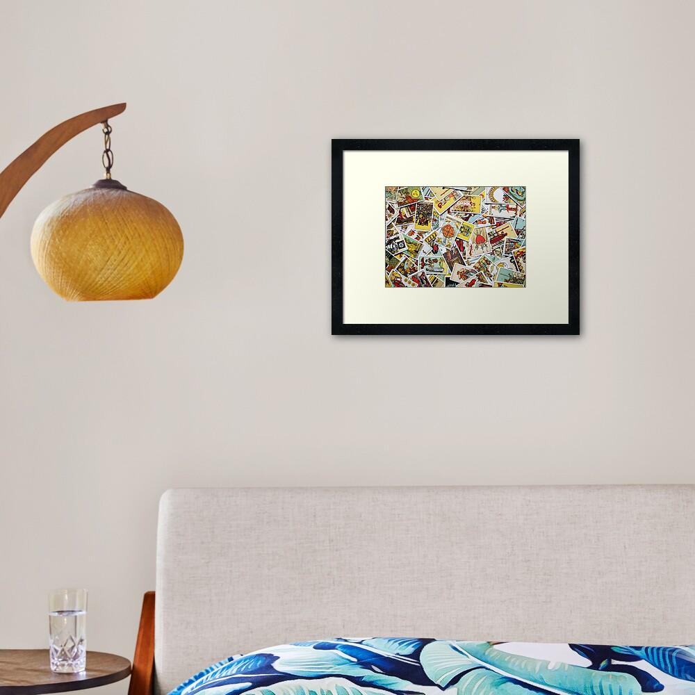 Tarot Card Collection Framed Art Print