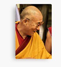 HH Dalai Lama. mcleod ganj, india Canvas Print