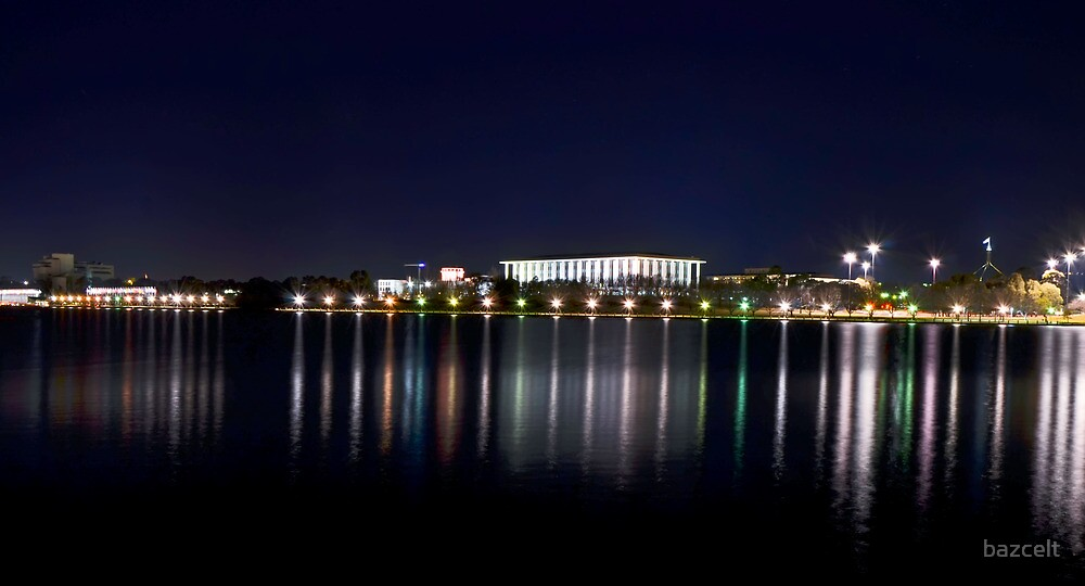 Capital By Night, Canberra by bazcelt