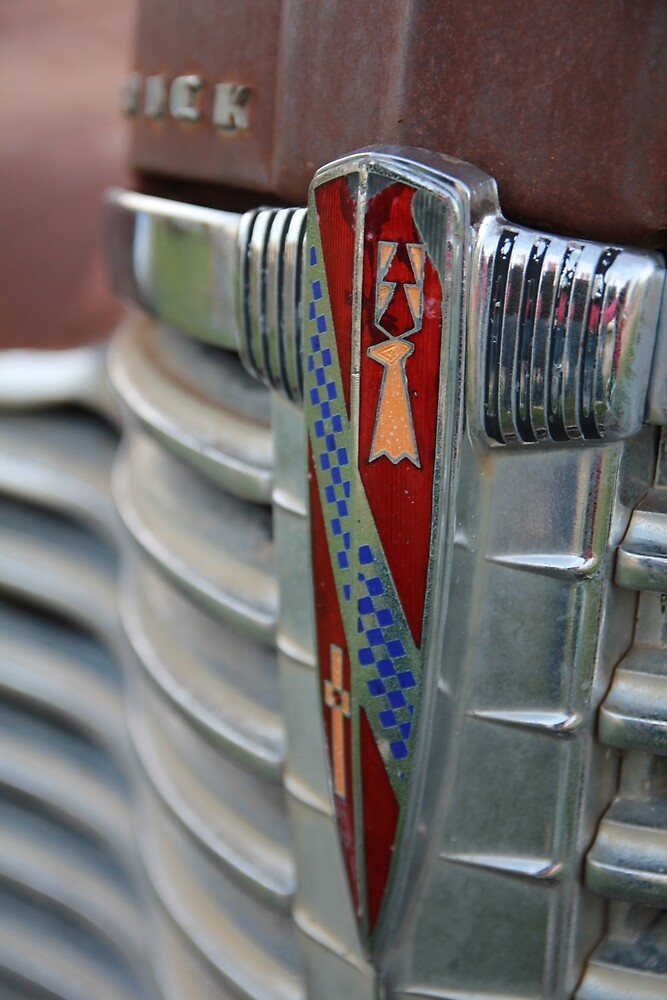 Old Buick Grill by katevernaphoto
