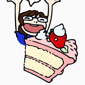 Cake YAY by Zekie