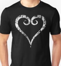 Kingdom Hearts Heart grunge T-Shirt